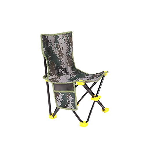 ch-AIR Chaise De Pêche De Loisirs Pliante Camouflage Outdoor Chaise De Pêche Portable Accessoires De Pêche Accessoires De Pêche Durable Et Pratique Mazar (Color : Camouflage 3)