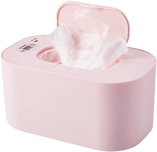 LYXCM Przenośny podgrzewacz do chusteczek, dozownik chusteczek do ładowania USB Etui na chusteczki dla niemowląt | Górny p...