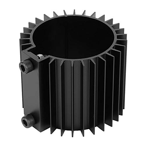 Oil Filter - Car Engine Oil Filter Cooler Heat Sink Cover Aluminum Alloy Motor Mount Accessory (Color : Black)