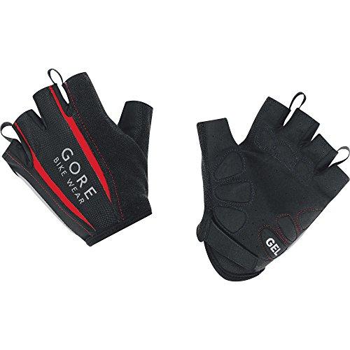 GORE WEAR Damen Power 2.0 Handschuhe, Schwarz/Rot, 6
