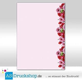 MPA-5194, DIN A4, 25 Blatt Blumen Ostern Motiv-Briefpapier schöne Narzissen