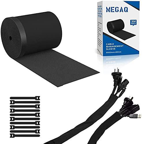 Organizador Cables,Cubre Cables de 3000 mm x 130 mm,Organizador de cable de...
