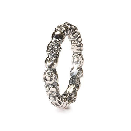 Trollbeads Silber Ring Schleierkraut, Gr. 54
