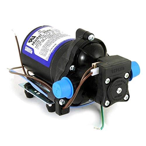 Shurflo Bomba de Presión de Agua 230V 9.5 l/Minuto 2088-592-144 - Consumo Intermitente Incorpora Presostato