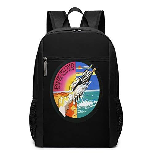 Pink Floyd - Mochila de viaje resistente al agua para ordenador portátil, mochila universitaria para mujeres y hombres, mochila de negocios