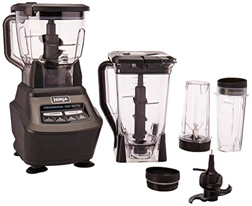 Ninja Mega Kitchen System (BL770) Blender/Food Processor with 1500W Auto-iQ Base, 72oz Pitcher,...