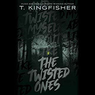 The Twisted Ones audiobook cover art