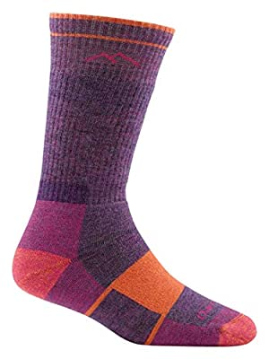 Darn Tough Hiker Boot Full Cushion Socks - Women's Plum Heather Medium