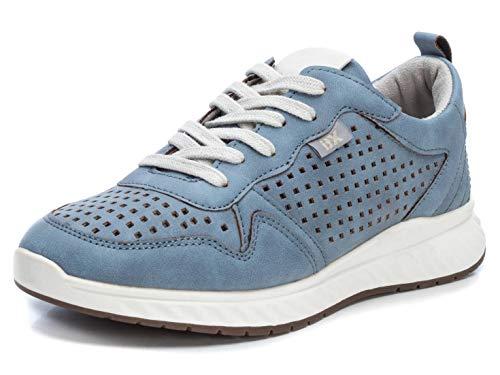 XTI Zapatilla XTI049892 para Mujer Azul 38