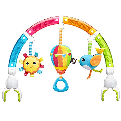 Arche d'eveil bébé voiture - Arceau bébé transat - Arche articulée bébé universelle - Arche d'activité bébé - Arche mobile bébé - Arche De Jeu Arc-En-Ciel Multi-Color - AR151 BENBAT