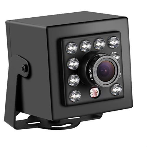 CCTV Videokamera Poe Hd H.265 3mp Ip Cámara 10 LED Ir Indoor Mini Tipo 1080p CCTV Cámara Onvif visión Nocturna P2p Negro Cam