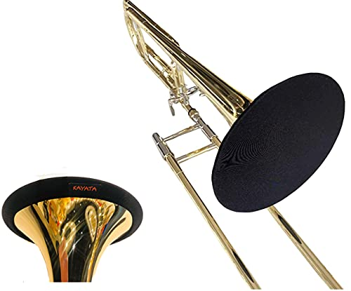 trumpet bells Music Instrument Bell Cover 8'',Washable and Reusable,Double-Layer Bell Cover for Standard Trombone Alto Horn Baritone Saxophone