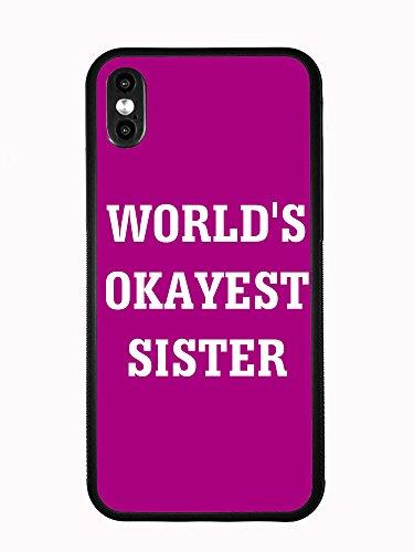 Preisvergleich Produktbild Atomic Market Schutzhülle für iPhone XS MAX 6.5 2018 (Worlds Okayest Sister)