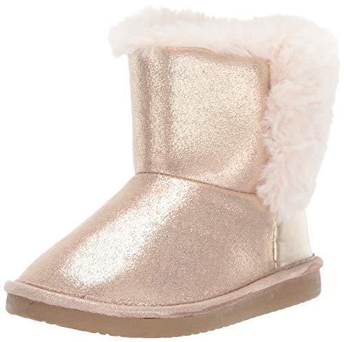 OshKosh B'Gosh Girls' Ember Fashion Boot, Gold, 10 M US Toddler
