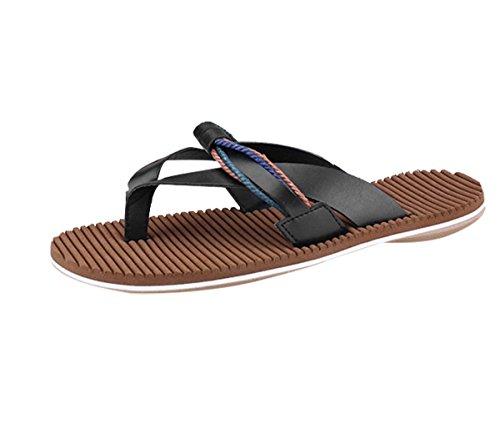 CTOOO Infradito Casual da Uomo Estivo Versione Coreana di Sandali Artigianali da Spiaggia