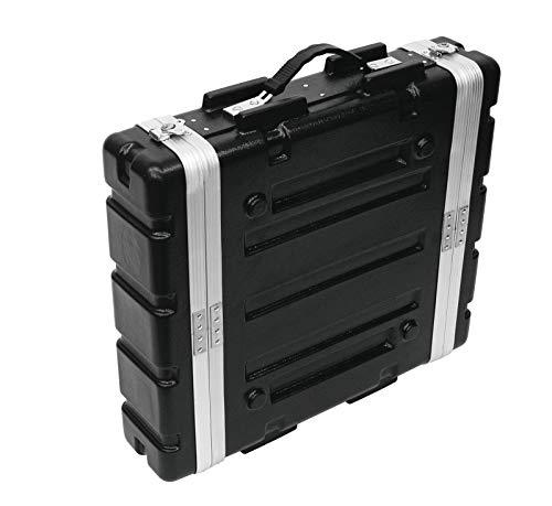 Roadinger 30106020 KR-19 DD Kunststoff-Rack (2HE) schwarz