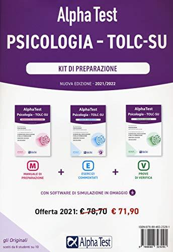 Alpha Test. Psicologia. TOLC-SU. Kit di preparazione