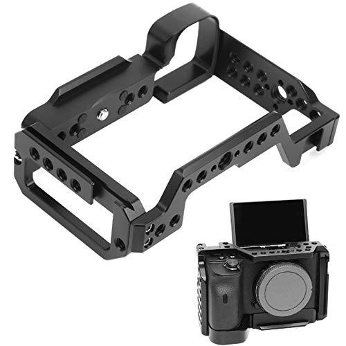 Jaula de video para cámara, película de jaula para cámara, negro para cámara Sony A6400 Accesorio para cámara