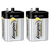 2 Pack Energizer Max 529 6V Lantern Battery