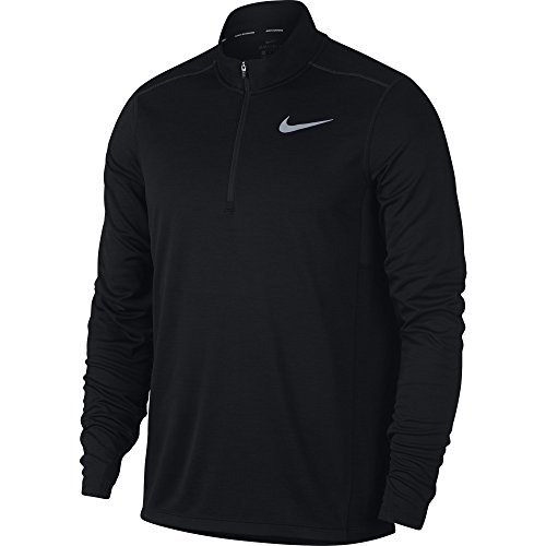 Nike M NK Pacer Top Hz Maglietta, Uomo, Uomo, 928411, Nero (Black), S