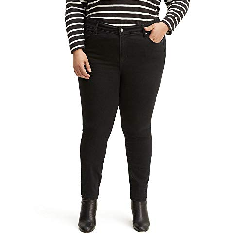 Levi's 721 - Pantalones vaqueros ajustados para mujer - negro - (48 ) R