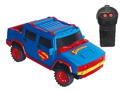 Carro de Controle Remoto Power Drivers, Superman, DC, 3 Funções, Candide