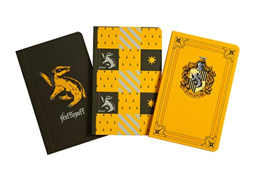 Harry Potter: Hufflepuff Pocket Notebook Collection (Set of 3) (Classic)