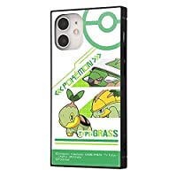 iPhone 12 mini / 『ポケットモンスター』/耐衝撃ハイブリッドケース KAKU/ナエトル