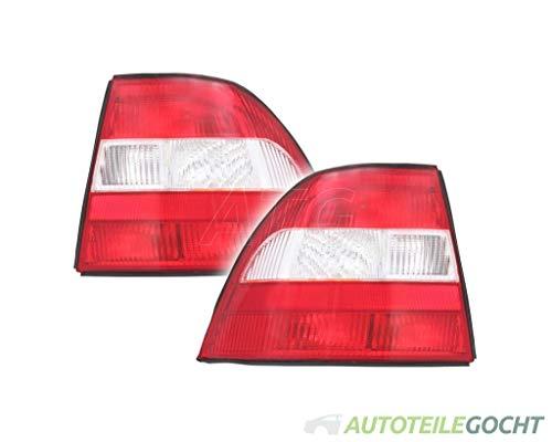Set DEPO Rückleuchte P21/4W für OPEL VECTRA B J96 95-99 6223159, 90512715, 6223160 von Autoteile Gocht