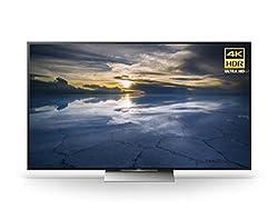 powerful Sony XBR55X930D 55 inch 4K Ultra HD 3D smart LED TV (2016 model)