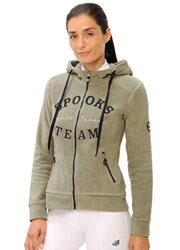 SPOOKS Marlena Fleece Jacket (Farbe: Light Olive; Größe: L)
