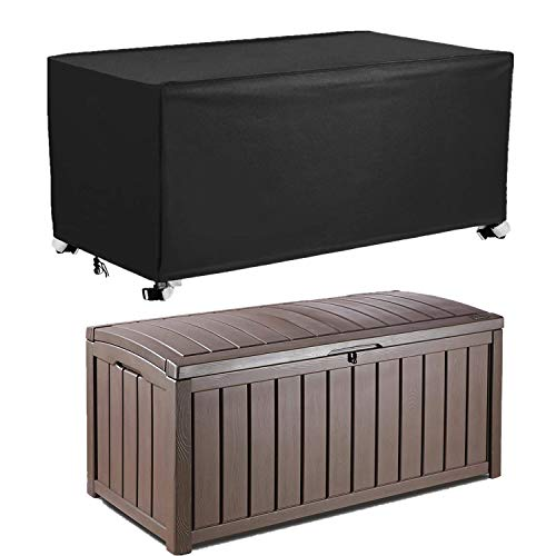 Patio Deck Box Cover to Protect Large Deck Boxes 53quotL x 27quotW x 27quotD