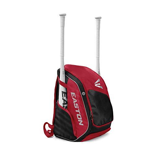 Easton Elite X Rucksack für Schläger und Ausrüstung, Rot