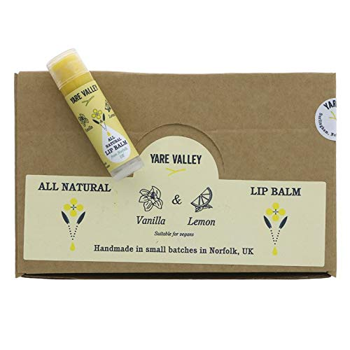 YARE VALLEY | Balm Stick - Vanilla & Lemon | 5 x 4g (DE)