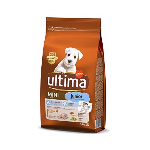 Ultima Pienso para Perros Mini Junior con Pollo - 1.5 kg ✅