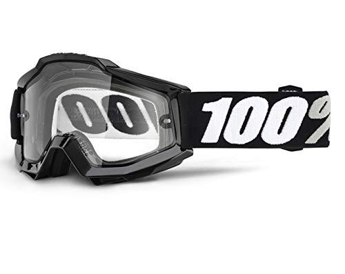 Inconnu 100% Accuri OTG Tornado Maschera di MTB unisex adulto, Nero
