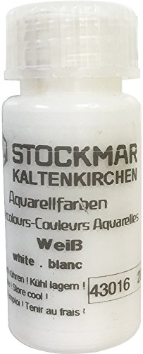 Stockmar Watercolor Paint: White, 20ml
