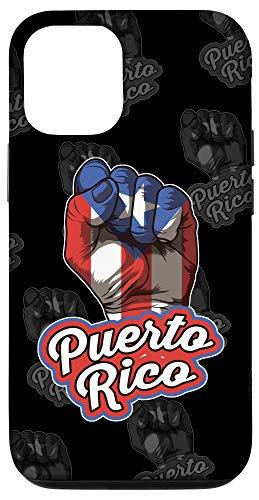 iPhone 12/12 Pro Puerto Rican Pride | Raised Fist Boricua Flag Case