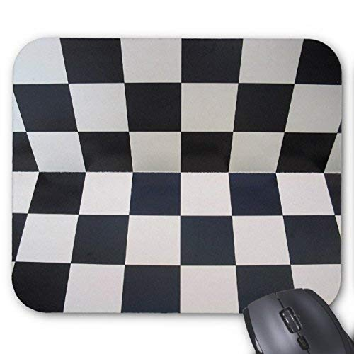 Rae Esthe Uoopoo Tablero de ajedrez Fondo de ajedrez Alfombrilla de ratón rectángulo Alfombrilla de ratón de Goma Antideslizante Alfombrillas de ratón para Juegos (patrón: impresión)