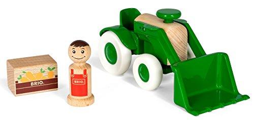 BRIO 30307 - My Home Town Traktor mit Frontlader
