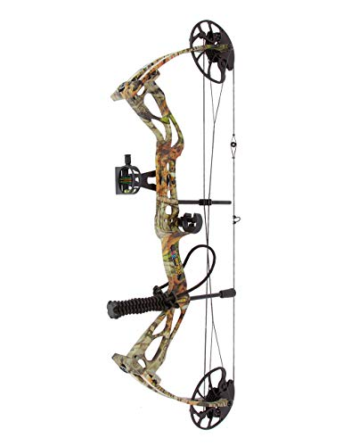 """sanlida Archery Dragon X8 Hunting Archery Compound Bow Package/Limbs Made in USA/8""""-31"""" Draw Length/0-70Lbs Draw Weight/Up to 310FPS/1 Year Warranty"""