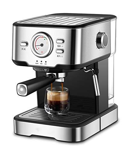 WLL Kaffeemaschine Mit 12 Cup Kapazität Mit Milchschäumer Für Espresso, Latte Und Mokka Wärmeplatte Und Abnehmbare Filter Espressomaschinen Für Heim Und Büro