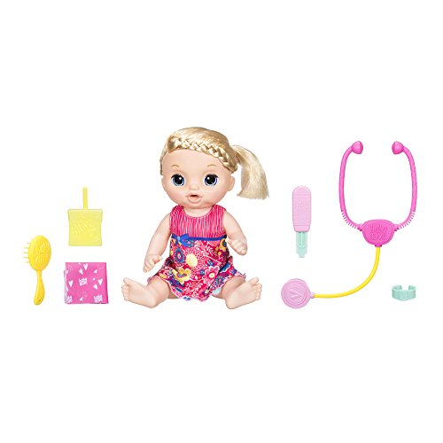 Baby Alive Sweet Tears Blonde Hair Baby Doll (Walmart Exclusive)