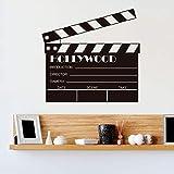 Film Clapboard Props Action Filmer Vinyle Sticker Mural Art Décalque Amovible Décor...