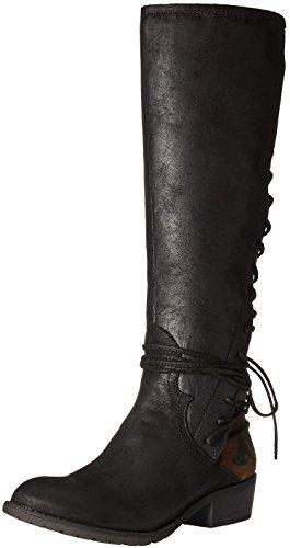 Very Volatile Women's Miraculous Riding Boot, Black Camo, 7 B US