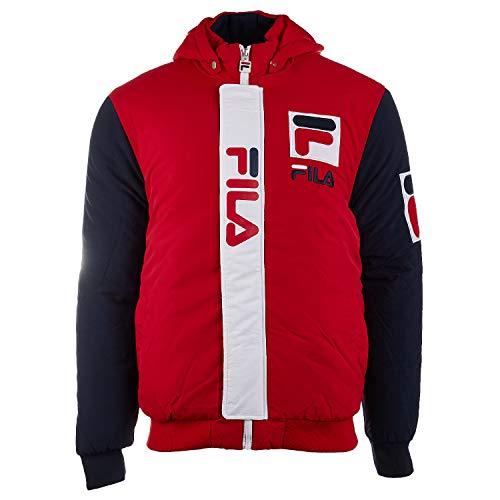 Fila Mens P1 Fila Tech Jacket Red S