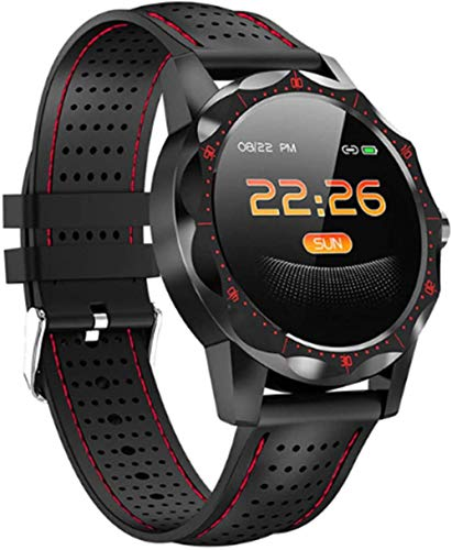 Smartwatch Fashion Watch Smart Waterproof IP68 Bracelet Activity Man Woman Intelligent Sports Fitness Watch Full Touch Screen Pressometer Chronometers for Android iOS-B Well