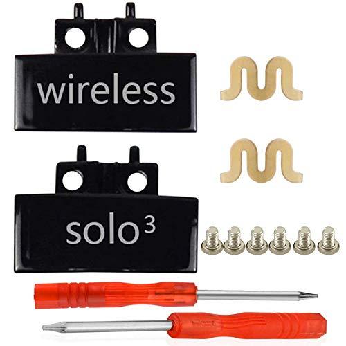 SINDERY Compatible con Kit de reparación, bisagras de metal y pernos de repuesto para auriculares inalámbricos Solo3/Solo 2.