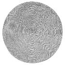 """15""""x15"""" Poly Round Placemat Gray - Room Essentials™ : Target"""