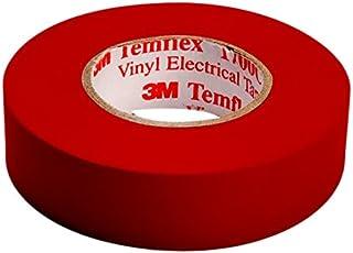 3M TROT1510 Temflex 1500 Vinyl elektro-isolatietape, 15 mm x 10 m, 0,15 mm, rood